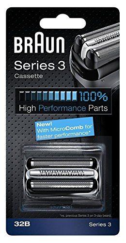 Braun-Pice-de-Rechange-32B-Noire-pour-Rasoir-Compatible-avec-les-Rasoirs-Series-3-0