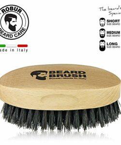 Brosse--barbe-en-bois-de-htre-naturel-et-soies-naturelles-de-porc-100-made-in-Italy-Poils-raides--peigner-la-barbe-mais-pas-agressif-0