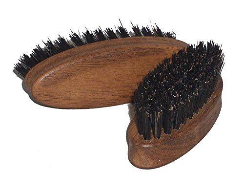 Brosse barbe noyer sanglier