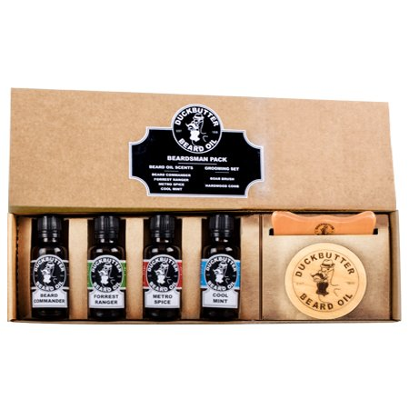 Duckbutter huile barbe coffret kit cadeau