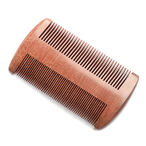 eqlef peigne barbe bois santal anti statique