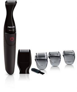 PHILIPS-MG110016-Tondeuse-Prcision-Go-Styler-Sries-1000-Mini-Rasoir-Sabots-pour-Barbe-Moustache-Pattes-et-Favoris-0