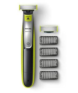 philips-qp253030-oneblade-avec-lame-de-rechange-4-sabots-barbe-0