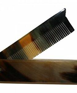 RAZZOOR-Peigne-pliable--barbe-en-corne-de-buffle-0