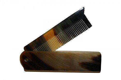 RAZZOOR-Peigne-pliable–barbe-en-corne-de-buffle-0