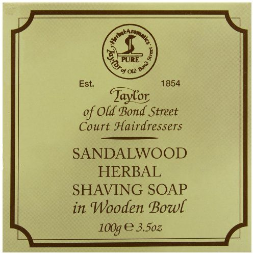 Taylor-of-Old-Bond-Street-Savon–Barbe-et-son-bol-en-bois-Sandalwood-0