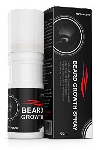 Beard Growth Spray Accélérateur barbe