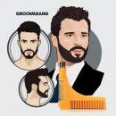 Groomarang-Pochoir–Barbe-avec-2-Peignes-IntgrsBrossette-de-Nettoyage-0-0