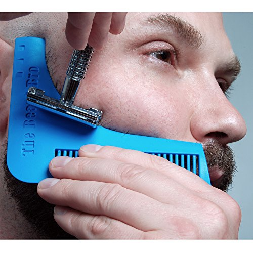 La-Barbe-Bro-Beard-Bro-Barbe-Rasage-Outil-Template-Tool-pour-Lignes-Parfaites-Symtrie-0