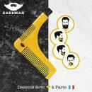 BARBMAN-Double-peigne–barbe-pour-un-rasage-prcis-des-contours-avec-brossette-de-nettoyage-pour-rasoir-cadeau-idal-pour-hipster-barbu-0
