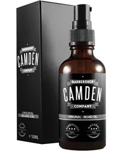 Camden Barbershop compagny huile barbe soin
