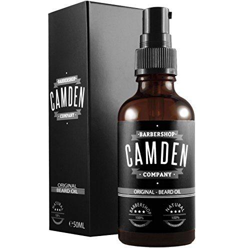 Camden Barbershop compagny huile barbe soin